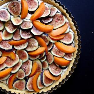 Fig, Apricot & Mascarpone Tart.