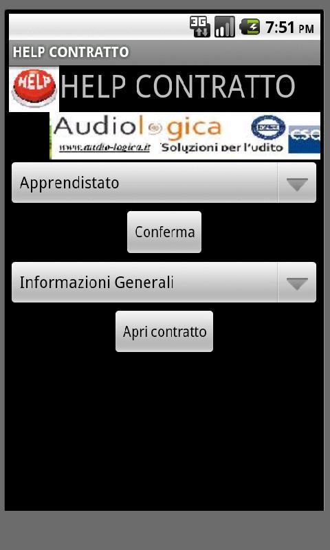 HELP CONTRATTO - screenshot