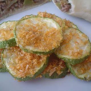 Zucchini Parmesan Crisps.