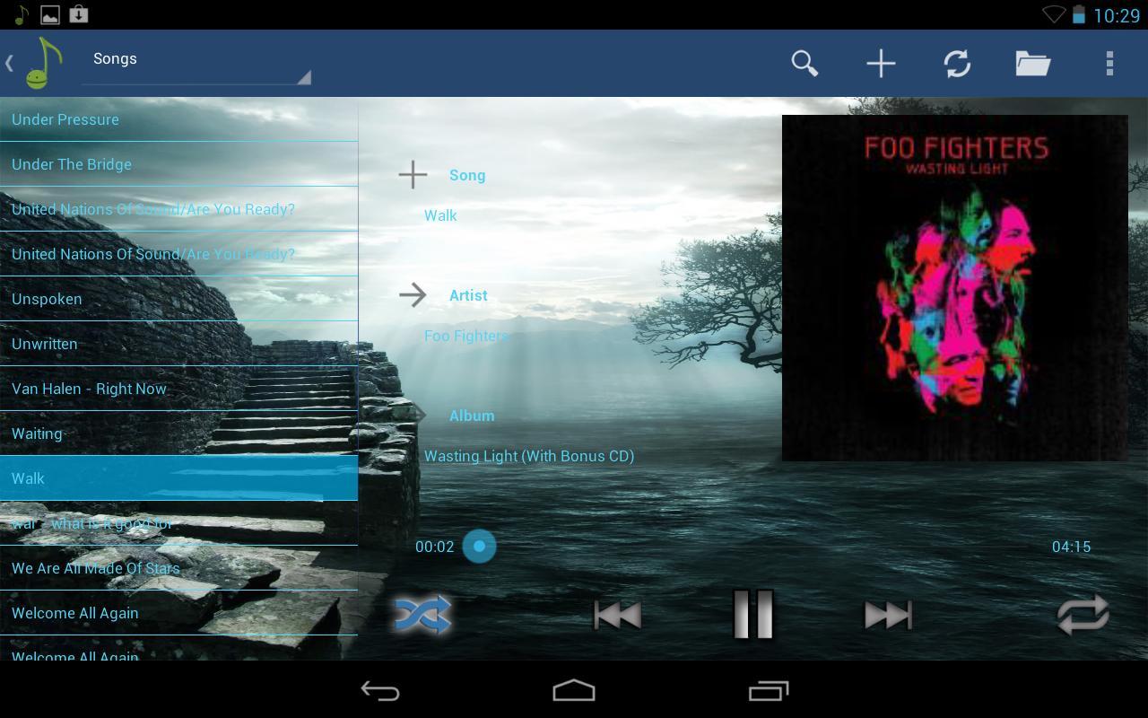 Hive Player Demo - screenshot