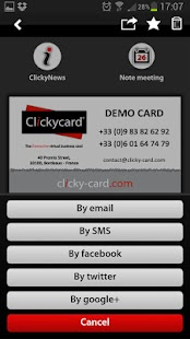 ClickyCard- screenshot thumbnail