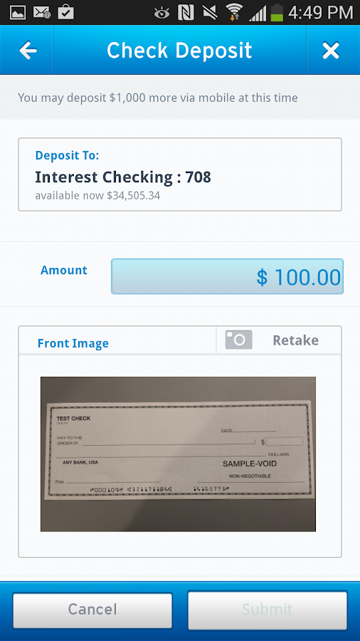 Citi Mobile® - screenshot