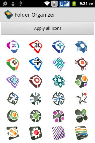 Folder Organizer Alt Icons