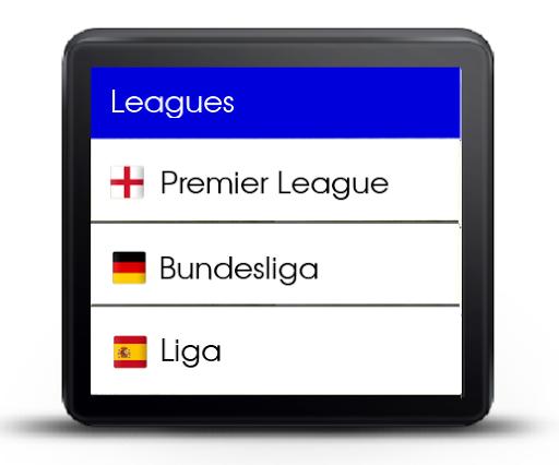 Football DB pour Smartwatch 2