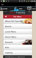 Screenshot of Ruby Tuesday