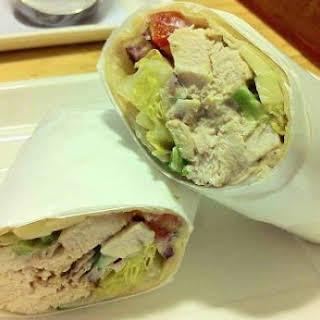 Chicken and Avocado Wrap.