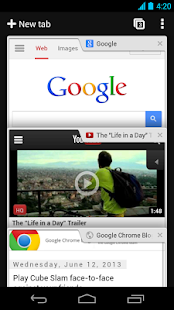 Browser Chrome - Google - screenshot thumbnail