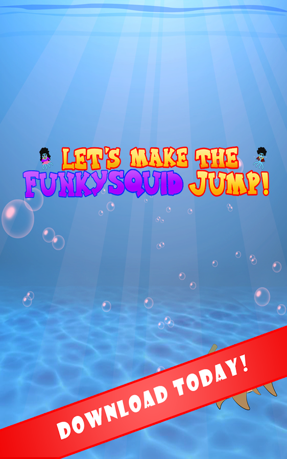 Lets Make The Squid Jump!- screenshot