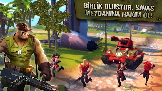 Blitz Brigade Apk Hile