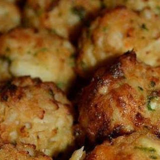 Baked Crab Balls Appetizer Recipes.
