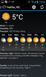 Canadian Weather - screenshot thumbnail