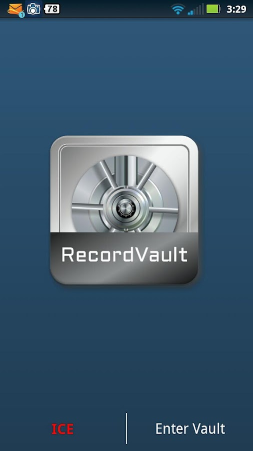 RecordVault- screenshot