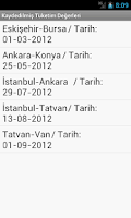 Screenshot of Oto Akaryakıt Tüketimi