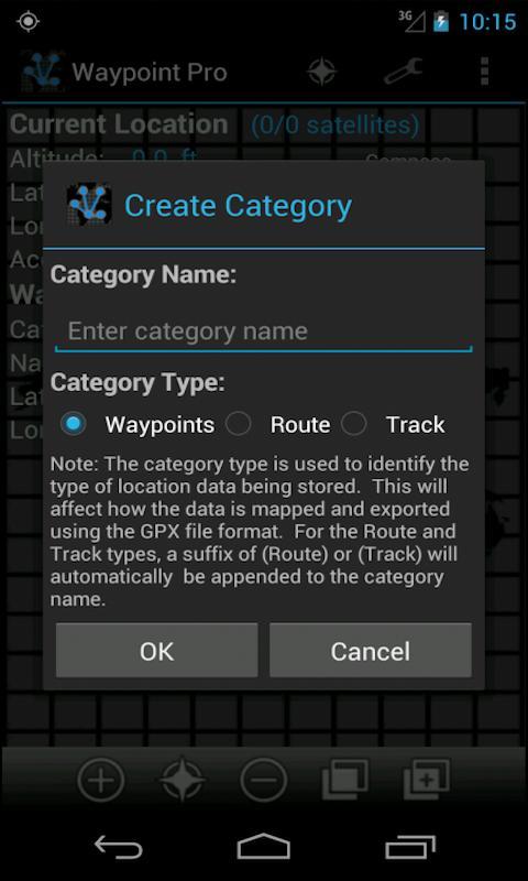 Waypoint Pro- screenshot