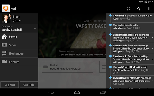Hudl- screenshot thumbnail