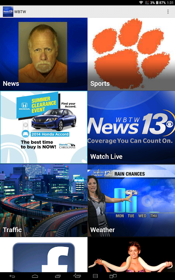WBTW News 13- screenshot