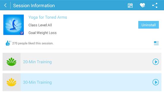 Yoga for Toned Arms (PRO)- screenshot thumbnail