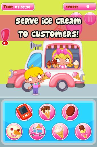 【免費休閒App】Ice Cream Slacking Girls Game-APP點子