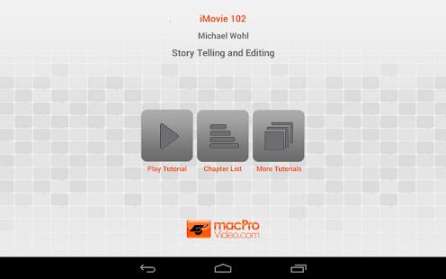 iMovie Story Telling Editing