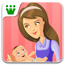 Supermom - Baby Care Game mobile app icon