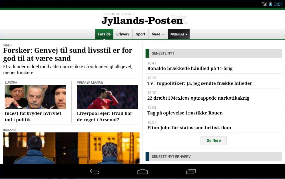 JP Mobile - screenshot