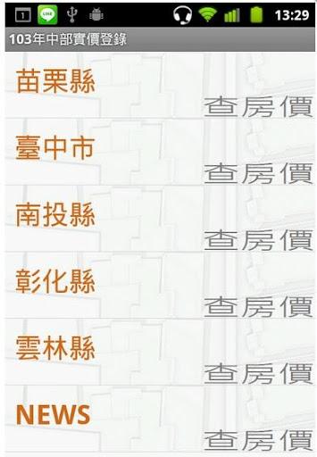 104年台灣中部實價登錄隨身包 20150416