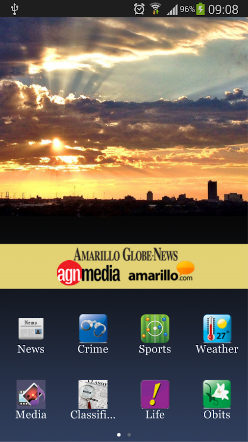 Amarillo Globe-News Mobile- screenshot
