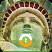 Statue of Liberty Wall & Lock