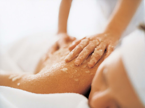 Spa-Fitness-Crystal-Spa-Salt-Massage - Ever try a salt massage? It's the perfect complement to the clean salt air of the ocean while sailing on the Crystal Serenity.