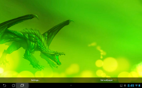 Dragon Live wallpaper- screenshot thumbnail