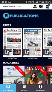 Air France Press - screenshot thumbnail