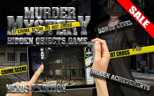 Murder Mystery Hidden Object