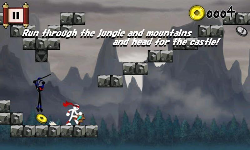 Run Ninja Run - screenshot