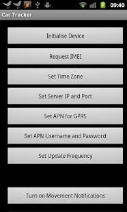 SMS GPS Car Tracker- screenshot thumbnail