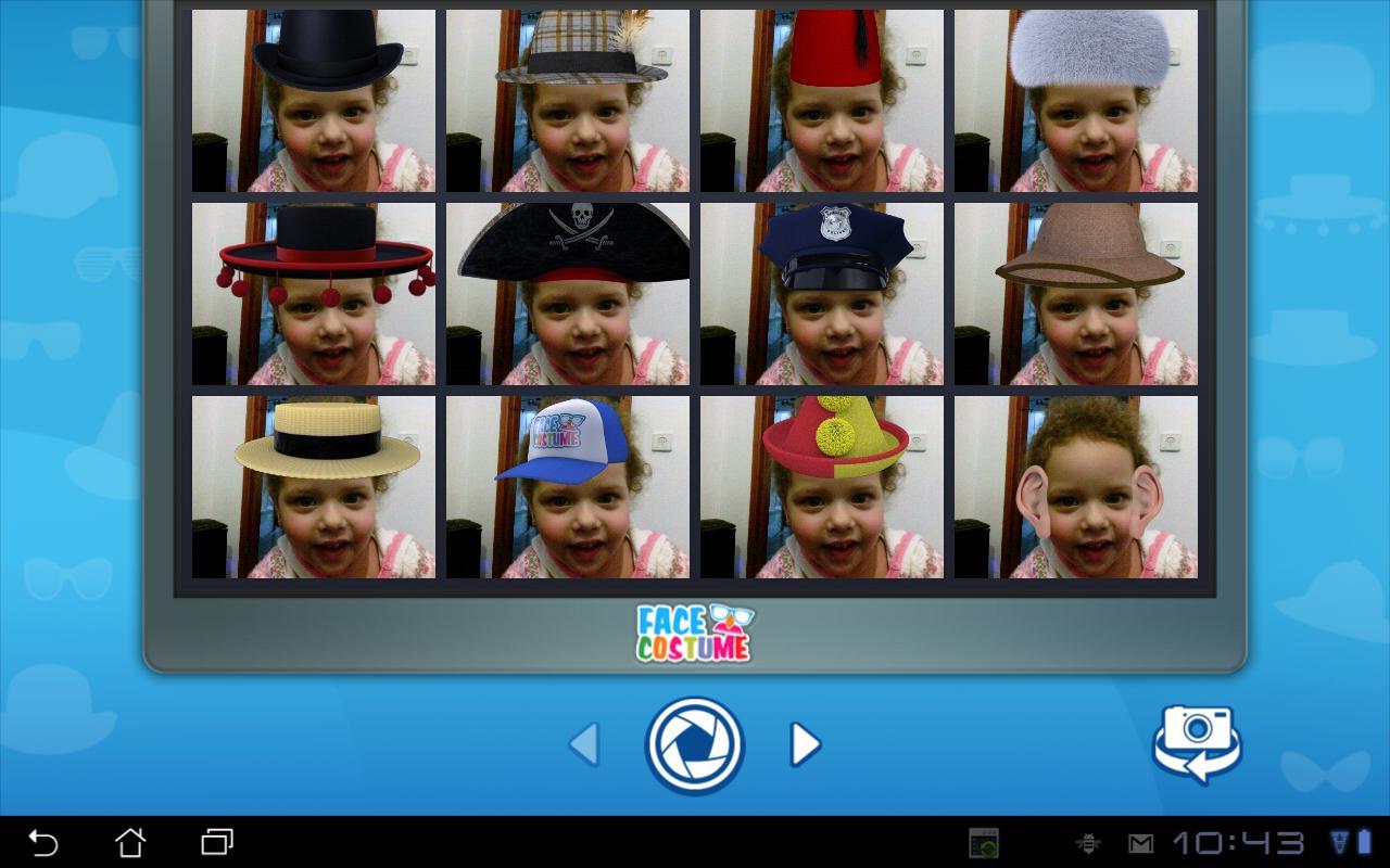 Face Costume - screenshot