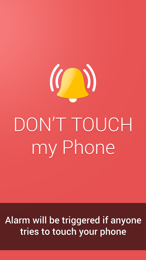 Don T Touch My Phone Alarm Android Apps On Google Play