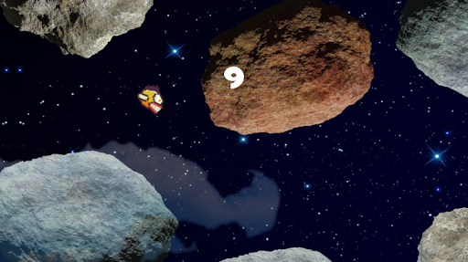 Flappy Angry Bird in Space
