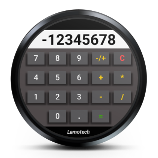 Calculator for watch