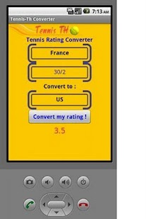 Tennis Converter - screenshot thumbnail