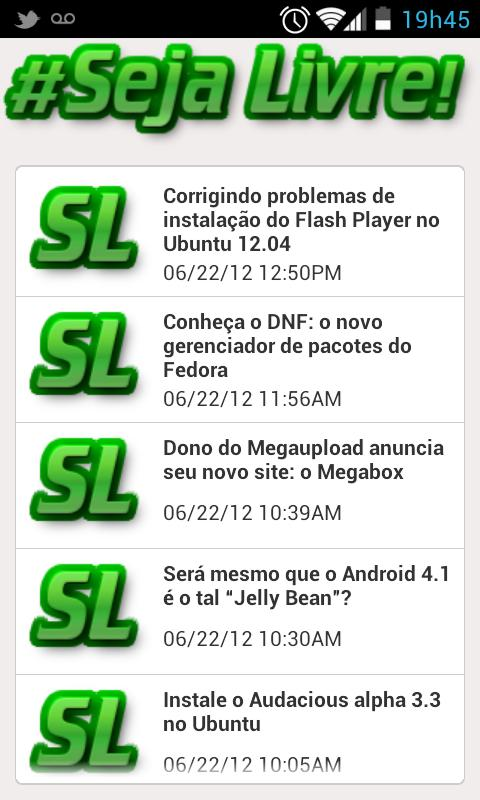 Blog Seja Livre- screenshot