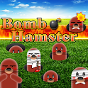 Bomb hamster (playing gopher logo