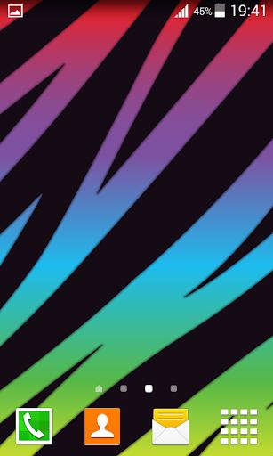 霓虹燈動物紋壁紙