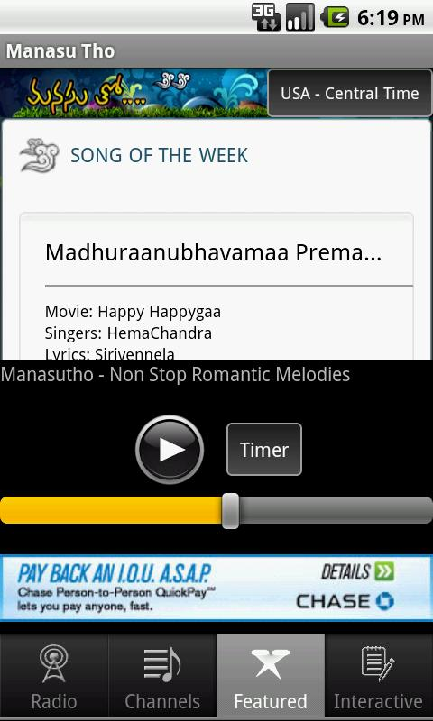 Manasu Tho - Telugu Music- screenshot