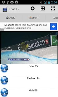 Live Tv - screenshot thumbnail