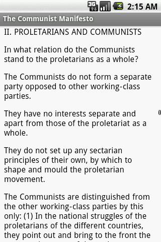The Communist Manifesto - screenshot
