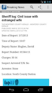 Monterey County Herald - screenshot thumbnail