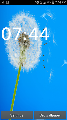 Dandelion And Sky Wallpapers