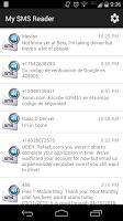 Screenshot of My SMS Reader