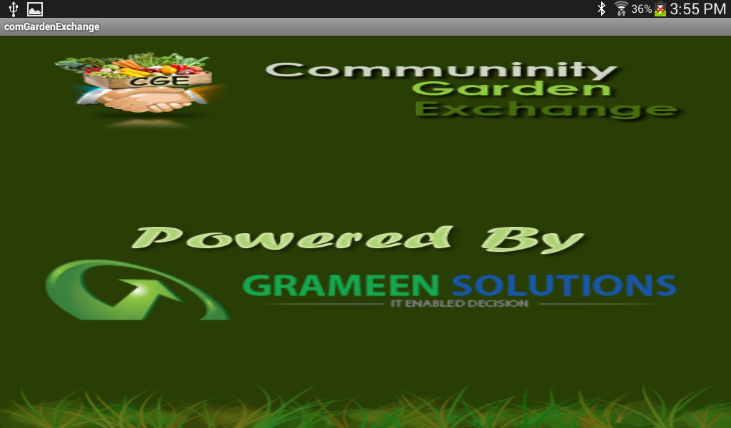 Community Garden Exchange- screenshot