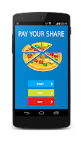 Screenshot of Pay Your Share